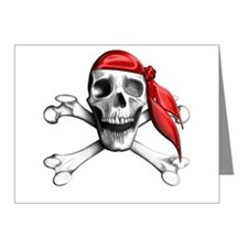 Pirate Note Cards (Pk of 10)