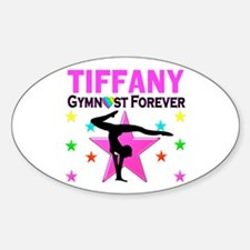 GYMNAST FOREVER Sticker (Oval)