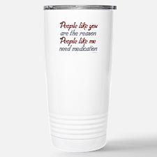 People like you Medicat Travel Mug