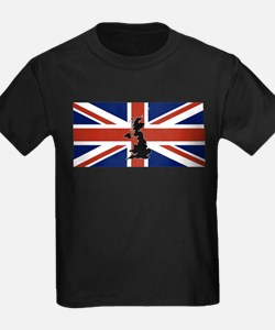 UK Silhouette and Flag T-Shirt