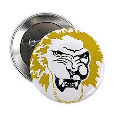 """Lion head 2.25"""" Button"""