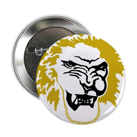 "Lion head 2.25"" Button"