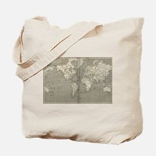 Vintage Map of the World (1820) 2 Tote Bag
