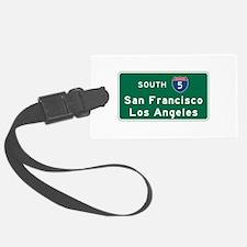 San Francisco/Los Angeles/I-5 Ro Luggage Tag
