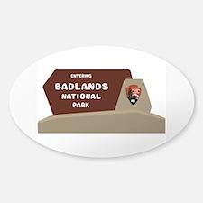 Badlands National Park, South Dakot Decal