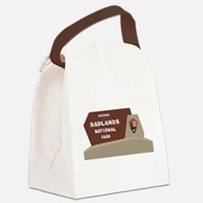 Badlands National Park, South Dak Canvas Lunch Bag