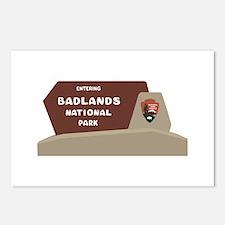 Badlands National Park, S Postcards (Package of 8)