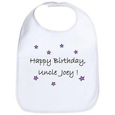 Happy B'Day Uncle Joey Bib