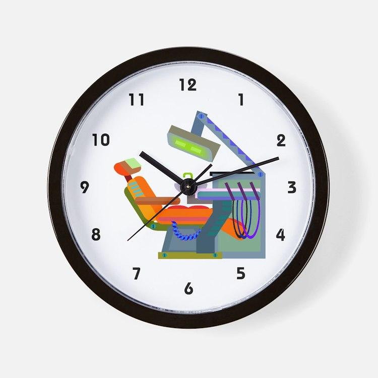 dental office clocks | dental office wall clocks | large, modern