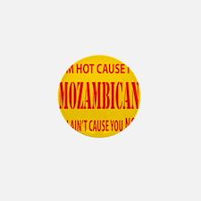 Hot Mozambican Mini Button