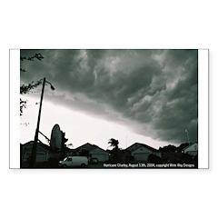 Hurricane Charley 2004 Rectangle Decal