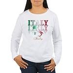 Italian pride Women's Long Sleeve T-Shirt