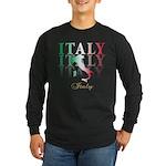 Italian pride Long Sleeve Dark T-Shirt