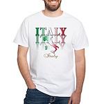Italian pride White T-Shirt