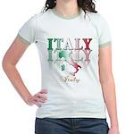 Italian pride Jr. Ringer T-Shirt