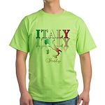 Italian pride Green T-Shirt