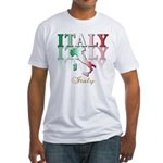 Italian pride Fitted T-Shirt