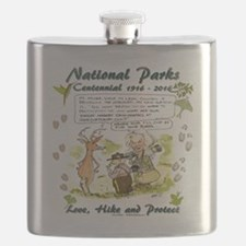 National Parks Centennial Flask