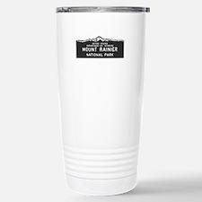 Mount Rainier National Stainless Steel Travel Mug