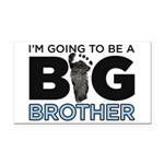 Im Going To Be A Big Brother Rectangle Car Magnet