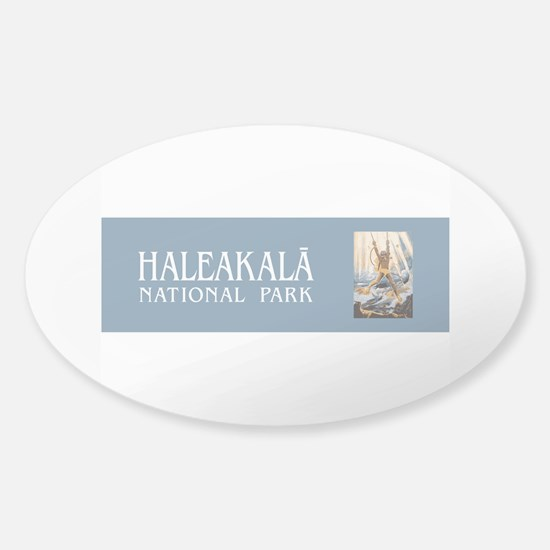 Haleakala National Park, Hawaii Sticker (Oval)