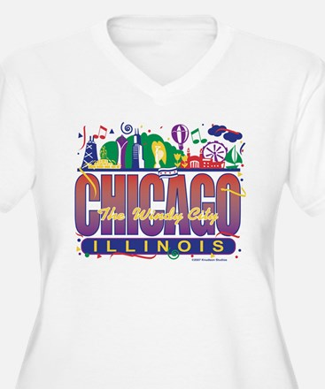 Chicago Confetti  T-Shirt