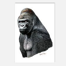 Cute Gorillas Postcards (Package of 8)