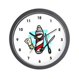 Hair dresser clock Wall Clocks