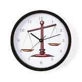 Lawyer wall clock Basic Clocks