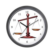 Lawyer Attorney Wall Clock