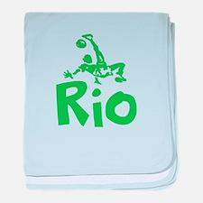 Rio baby blanket