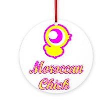 Moroccan Chick Ornament (Round)