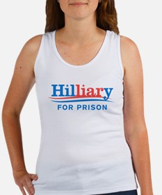 Liar Hillary For Prison Tank Top
