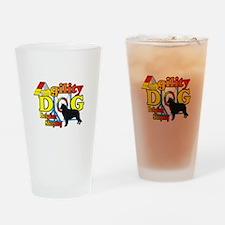 Belgian Sheepdog Agility Drinking Glass