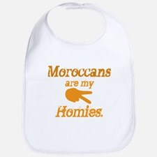Moroccans Homies Bib