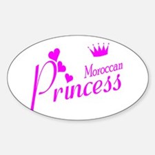 Moroccan Princess Oval Decal