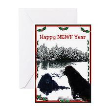 Alaska Newfy Greeting Card