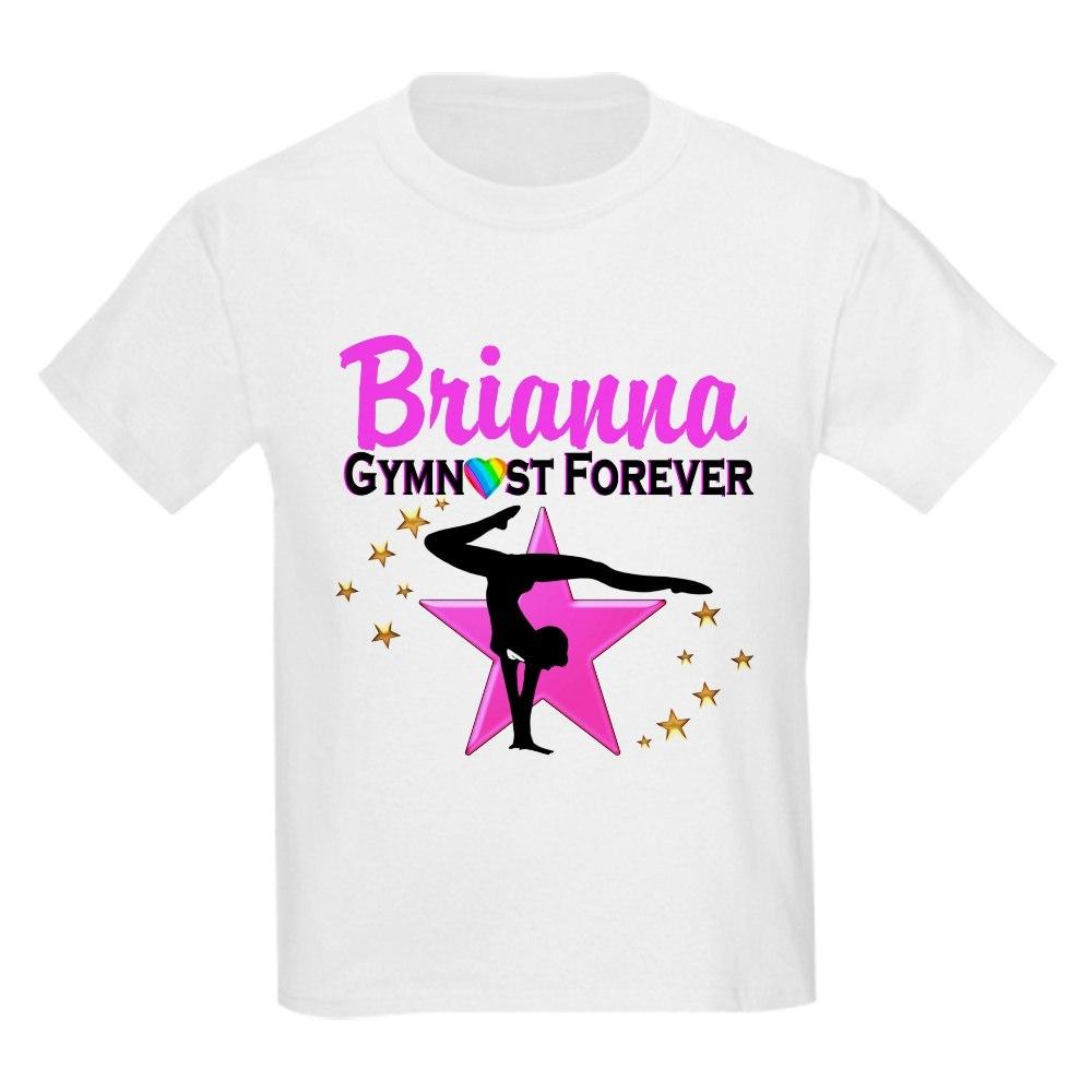CafePress GYMNAST FOREVER Kids Light T-Shirt