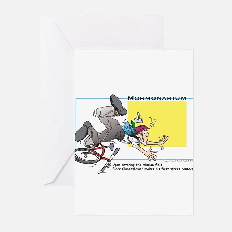 Street contact Greeting Cards