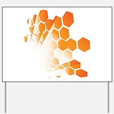 Honeycomb Yard Sign