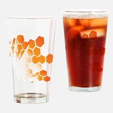 Honeycomb Drinking Glass
