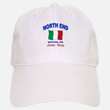 North End Boston,MA Baseball Baseball Cap