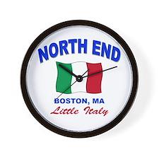 North End Boston,MA Wall Clock