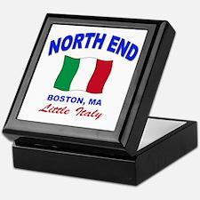 North End Boston,MA Keepsake Box