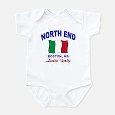 North End Boston,MA Infant Bodysuit
