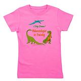 Dinosaur Girl's Dark T-Shirt