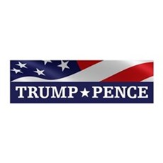 Trump Pence Wall Decal