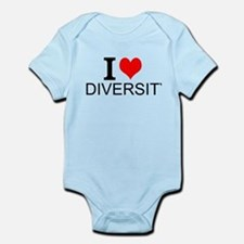 I Love Diversity Body Suit