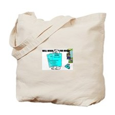 BEARY JOBLESS Tote Bag