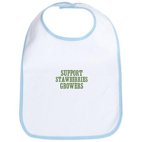 Support Stawberries Growers Bib